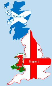 Facts and figures of England Wales and Scotland