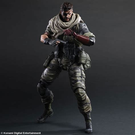 Check out the Venom Snake action figure by Play Arts