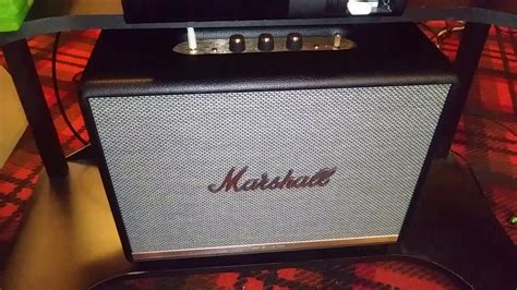 Marshall Woburn 2 Rough Review - YouTube