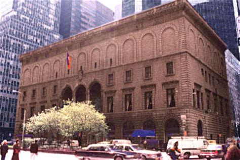 New York Architecture Images- New York Racquet and Tennis Club