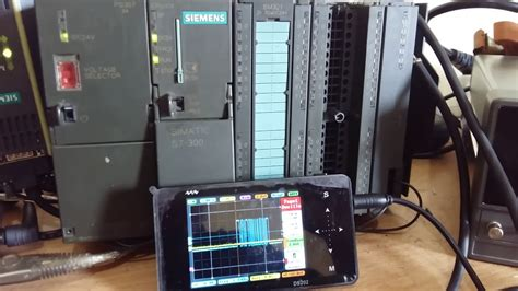 Weighing AND communication to siemens s7300 via cp341
