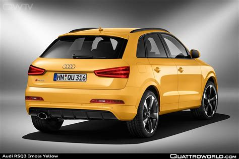 First RS model in the Q series: Audi RS Q3 with new colors