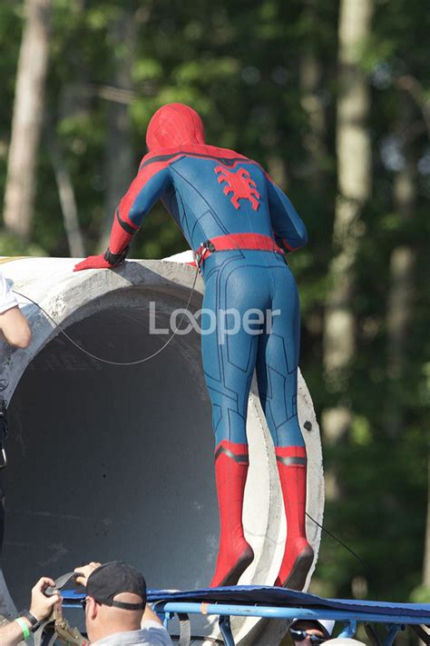 """""""Spider-Man: Homecoming"""" Behind The Scenes Pics 
