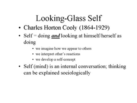 Looking-Glass Self Theory - The Social Self