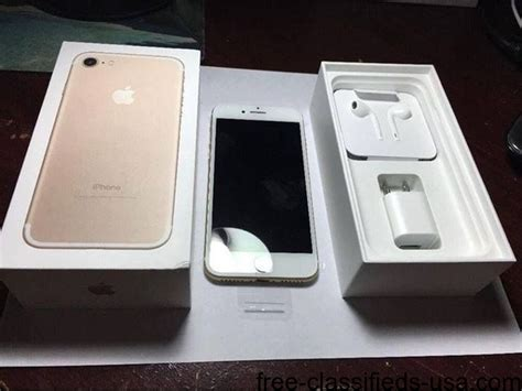 BRAND NEW SEALED IN BOX APPLE IPHONE 7 /APPLE IPHONE 7