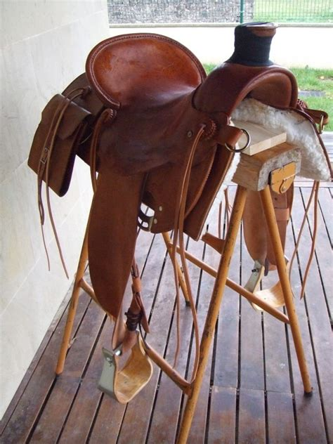 Selle western avec sacoches | ChevalAnnonce