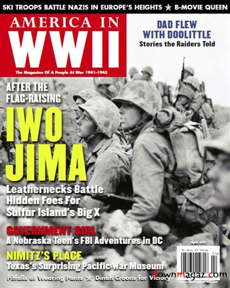 America In WWII - April 2012 » Download PDF magazines