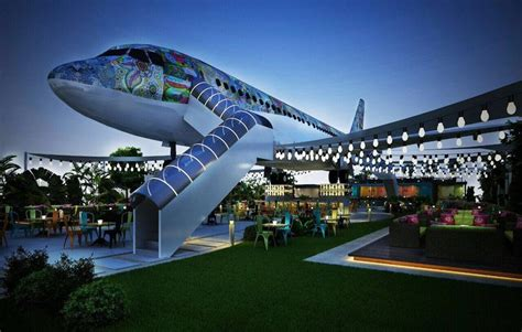 Converted Airplane Eateries : airplane restaurant