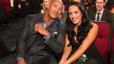Dwayne Johnson Goes on Adorable Father-Daughter Date With