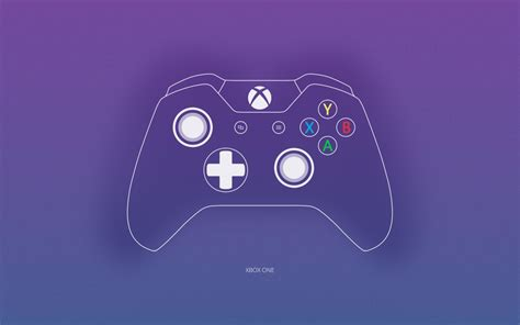 Wallpaper Xbox One, Xbox Wireless Controller, Vector