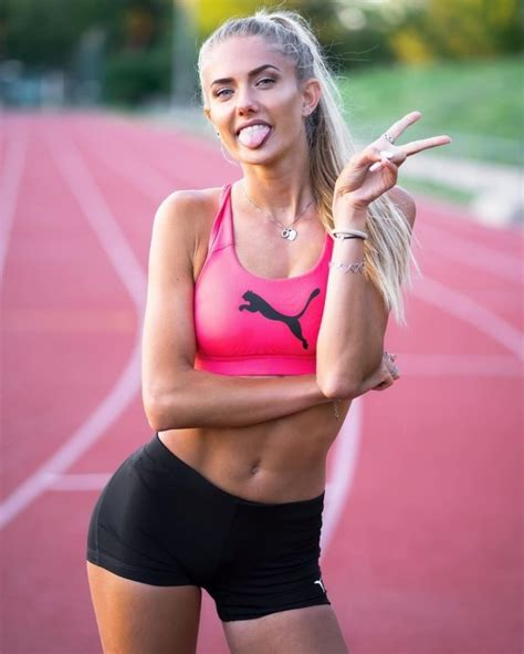 Olympic Runner Alica Schmidt Is 'The Sexiest Athlete In