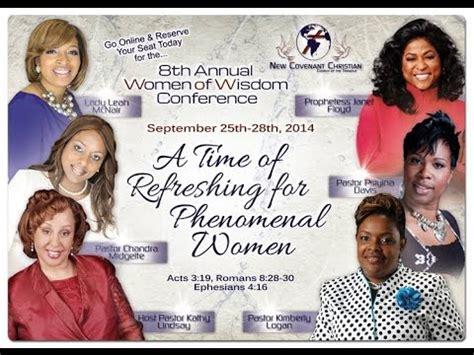 New Covenant Christian Church 8th Annual WOW Conference