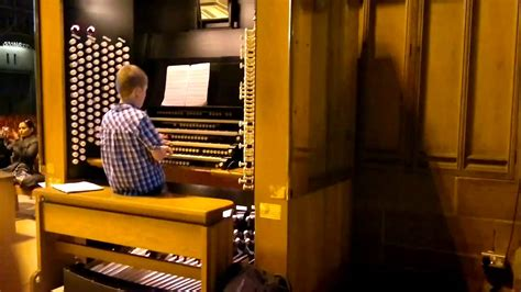 Liverpool Cathedral Organist - YouTube