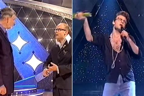 Harry Hill: Harry Hill performs as Morrissey in throwback