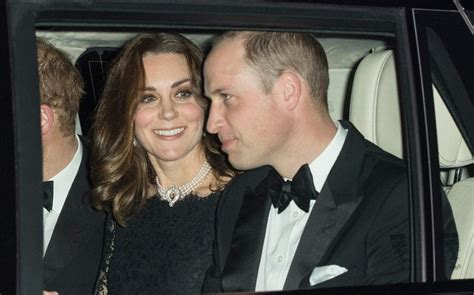 Duchess of Cambridge wears Queen's pearls as royal family