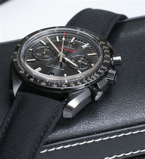 Omega Speedmaster Co-Axial Chronograph Dark Side Of The