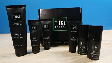 Tiege Hanley: Skin Care Level 3 Kit - 1 Month Later