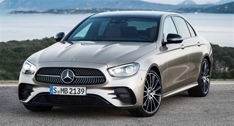 Mercedes-Benz Gives 2021 E-Class A Face And Tail Lift