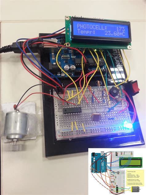What I Surf On The Net: Arduino: Photocell, thermistor