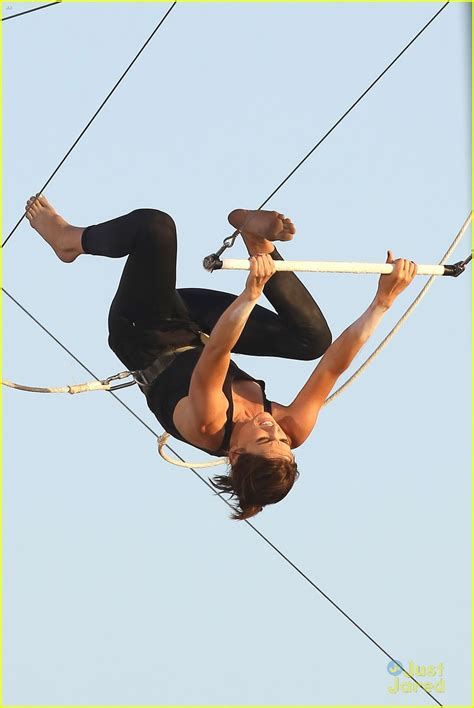 Jessica Stroup: Trapeze Flyer For '90210' | Photo 487359