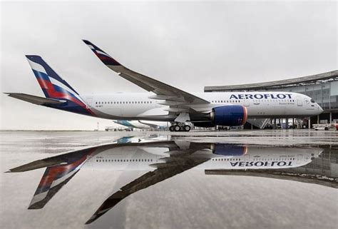 Pictures: Aeroflot welcomes first of 22 Airbus A50XWB on