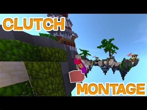 Block Clutch Montage - Hypixel Bedwars and Skywars! - YouTube
