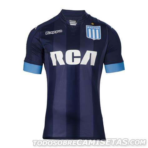 Camisetas Kappa de Racing Club 2017 - Todo Sobre Camisetas