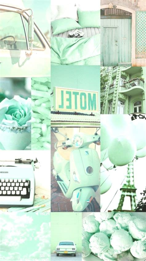 Wallpaper, background, collage, aesthetic, music, color