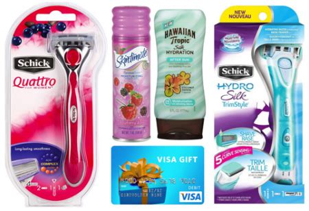 Free Schick Quattro Prize Pack Giveaway | Free Stuff