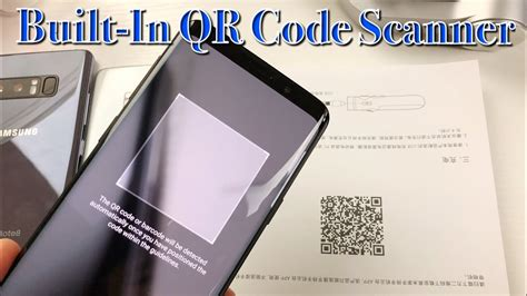 Galaxy S8/S9/Note 8: How to Scan QR Code w/ Built-In