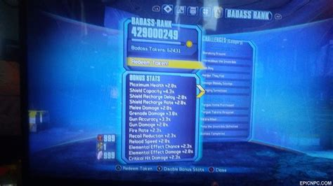 Selling - Borderlands 2 & TPS Personalized Modded accounts