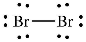 What is the Lewis dot structure for br2? - Quora