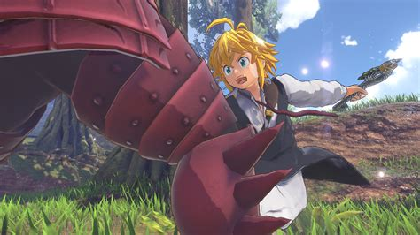 The Seven Deadly Sins: Knights of Britannia PS4 Game Gets