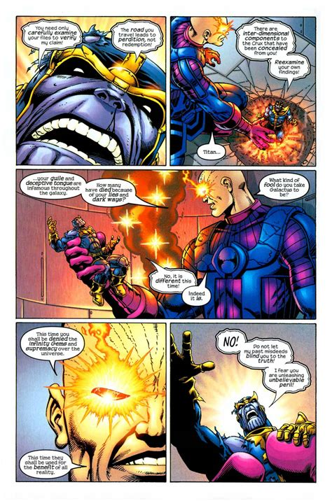 Dormammu vs Thanos - Battles - Comic Vine
