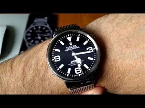 Rolex Oyster Perpetual Explorer Watch Face for Android