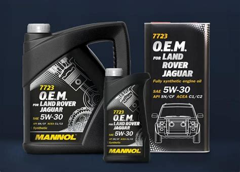 MANNOL adds specialist Jaguar Land Rover oil
