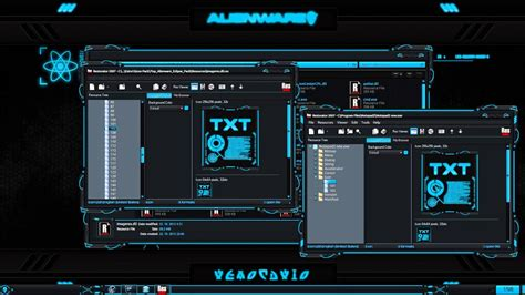 Alienware® Eclipse Premium Theme by Mr Blade Extras How to