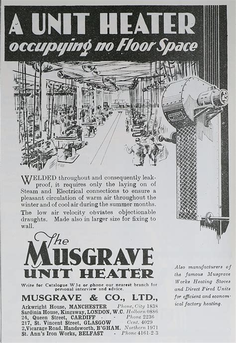 Musgrave and Co - Graces Guide