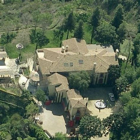 Sylvester Stallone's House in Beverly Hills, CA (Google Maps)