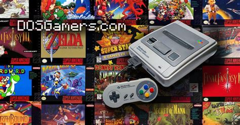 Super Nintendo (SNES) Games for Windows 10, 8 and Windows 7