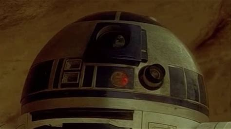 Deleted R2D2 scene from Star Wars Episode IV: A New Hope
