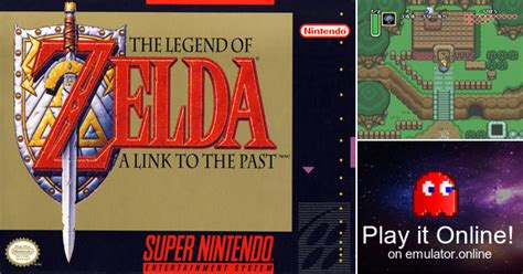 Play The Legend of Zelda : A link to the past on Super