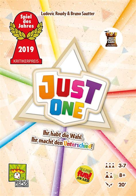 Just one Spielanleitung - PDF Download - Spielregeln