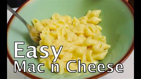 Easiest Mac and Cheese Recipe (quick and easy)- BenjiManTV