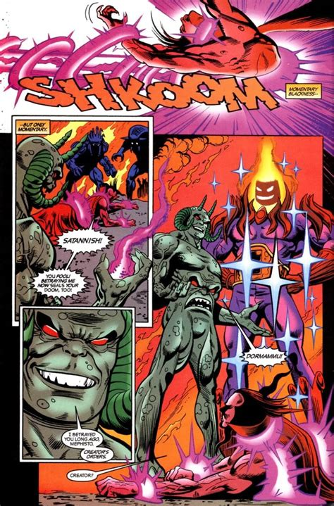 Dormammu vs Mephisto and Ghost Rider - Battles - Comic Vine