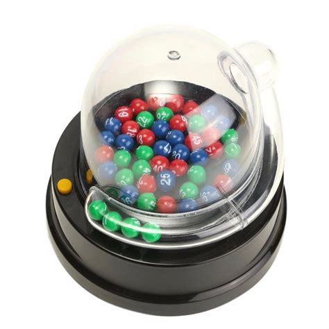 Electric Lucky Number Picking Machine Mini Lottery Bingo
