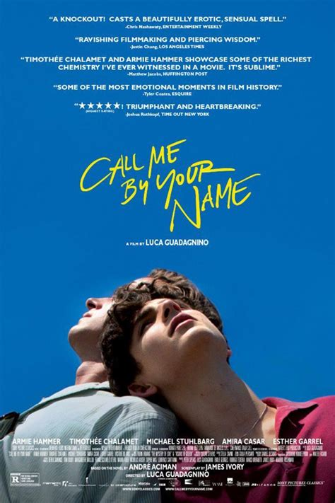 Call Me by Your Name (2017) - FilmAffinity