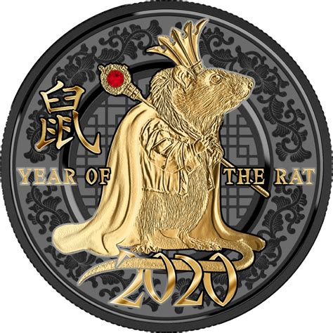 Coins Australia - 2020 Year of the Rat – Year of Success