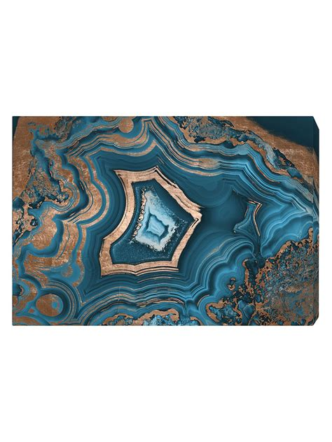 Dreaming About You Geode (Canvas) | Decor, Modern wall art