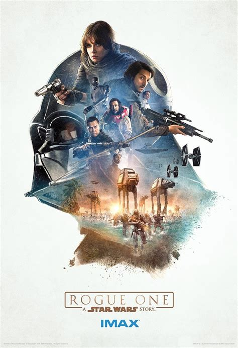 Rogue One Gets Three New IMAX Posters - Star Wars: The